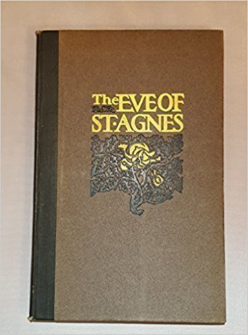 The Eve of St Agnes,1900  Signed first edition Book